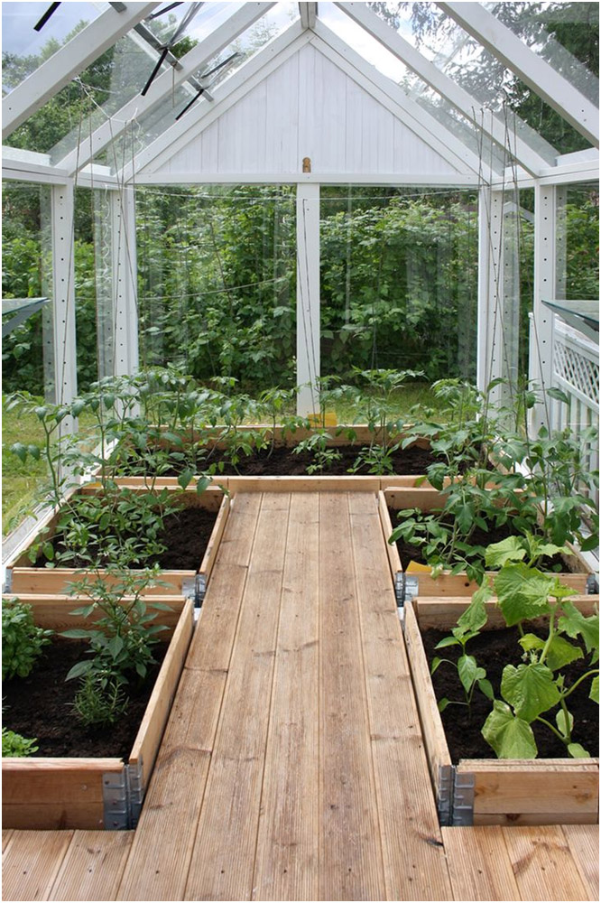 Plan Your Greenhouse Interiors